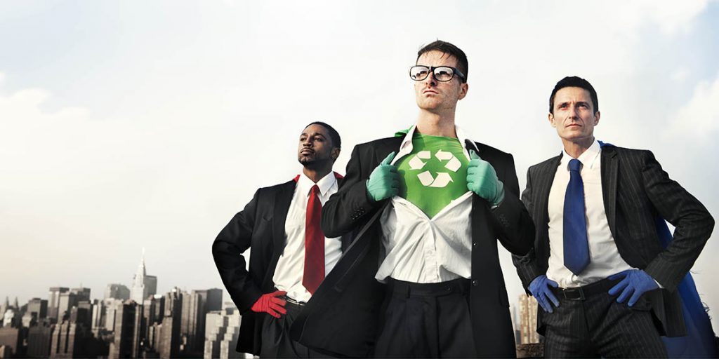 sustainability superheros