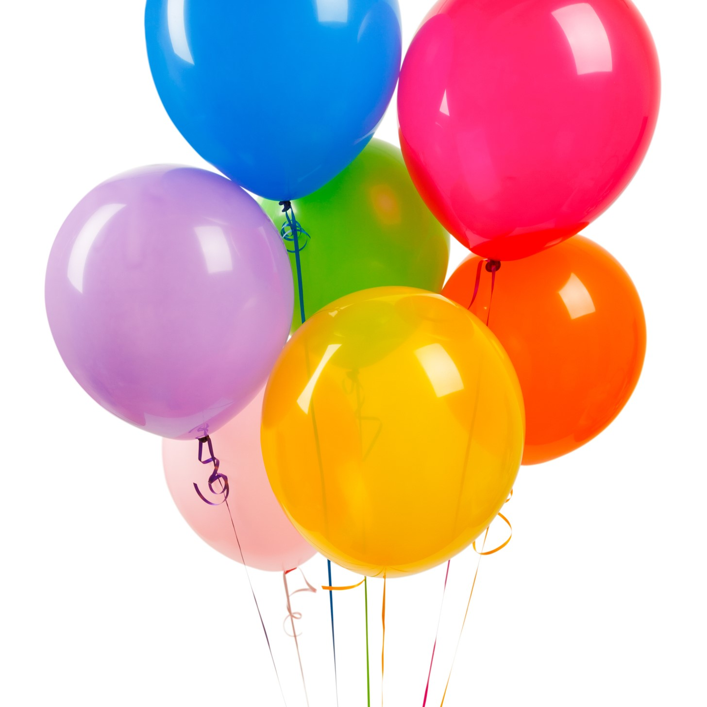 Party balloons like latex balloons, rubber balloons, or even biodegradable balloons