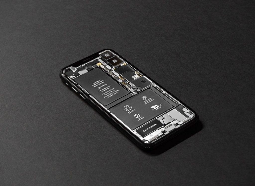 Lithium-Ion in a cell phone