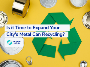 header image for metal can recycling