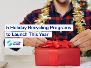 holiday recycling programs