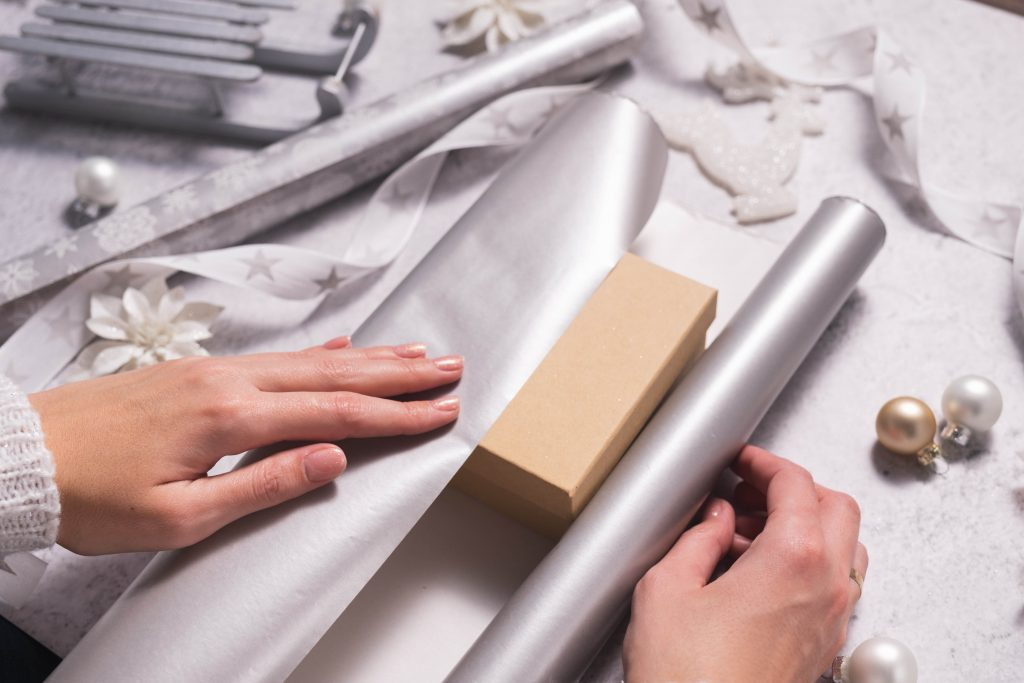 Wrapping paper recycling
